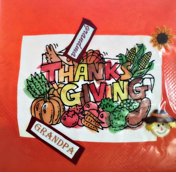 Grandpa thanksgiving
