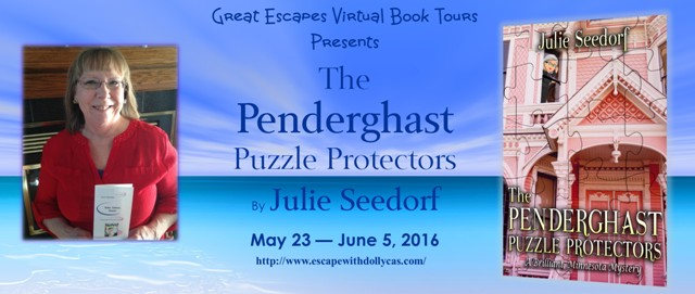 Author Interview – Julie Seedorf, author of The Penderghast PuzzleProtectors