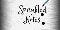 Sprinkled Notes