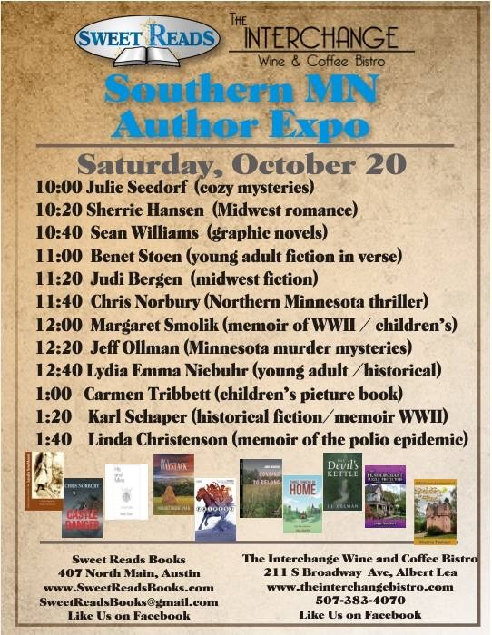 Check Out 10 Local Authors This Weekend